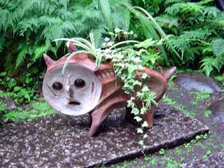庭にはめんこいイノシシは爆発だ?