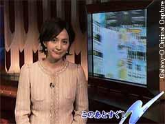 滝川クリステル OCT.24.2006