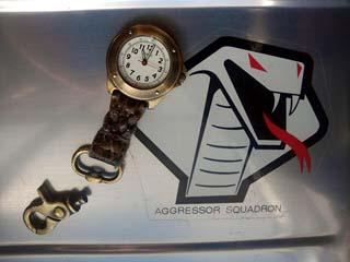 ジョイントが摩耗して分離した時計