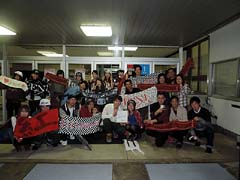 Nov. 2.2014 Sun BENI Niigata Seiryo University AOZORASAI